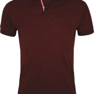Рубашка поло мужская Patriot 200, бордовая