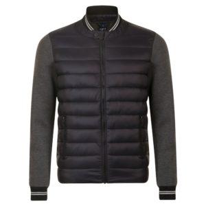 Куртка унисекс Volcano, черный меланж с черным