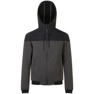 Куртка унисекс Voltage, черный меланж с черным