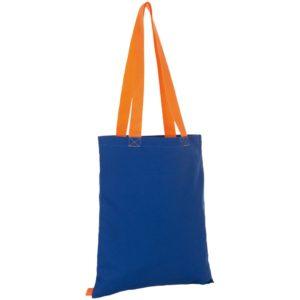 Сумка для покупок Hamilton, синяя c оранжевым