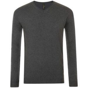 Пуловер мужской Glory Men, черный меланж