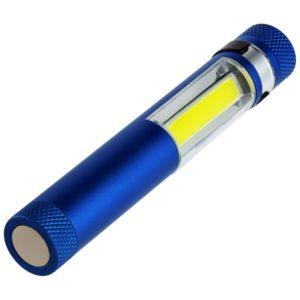 Фонарик-факел LightStream, малый, синий