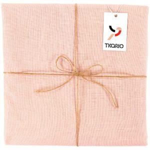 Скатерть Essential с пропиткой, прямоугольная, розовая
