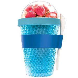 Охлаждающий контейнер Chill Yo 2 Go, голубой