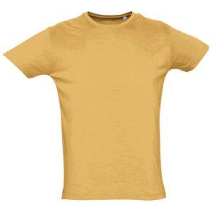 Футболка мужская First 150, горчично-желтая