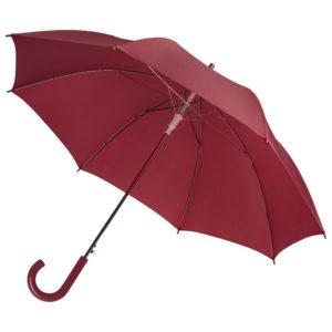Зонт-трость Unit Promo, бордовый