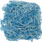 Бумажный наполнитель Chip Mix, голубой