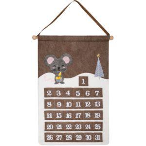 Адвент-календарь Noel, с мышкой