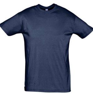 Футболка Regent 150, кобальт (темно-синяя)