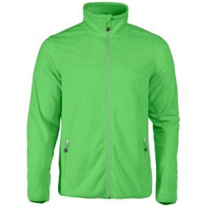 Куртка флисовая мужская Twohand зеленое яблоко