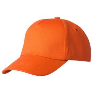 Бейсболка Bizbolka Convention, оранжевая