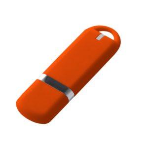 Флешка Memo, 8 Гб, оранжевая