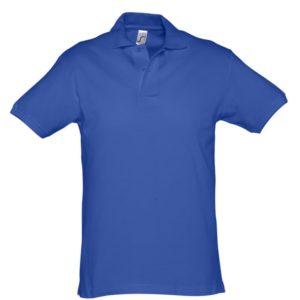 Рубашка поло мужская Spirit 240, ярко-синяя (royal)