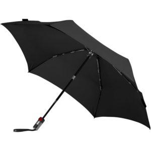 Зонт складной TS220 с безопасным механизмом, черный