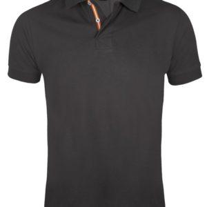 Рубашка поло мужская Patriot 200, темно-серая