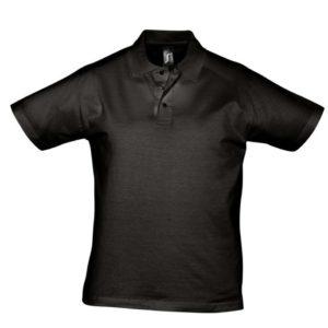 Рубашка поло мужская Prescott Men 170, черная