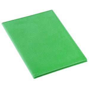 Обложка для автодокументов Twill, зеленая