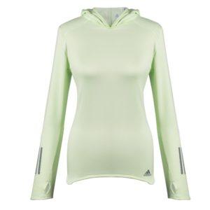 Толстовка женская с капюшоном RS Hoodie, светло-зеленая
