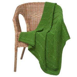 Плед Comfort Up, зеленый (оливковый)