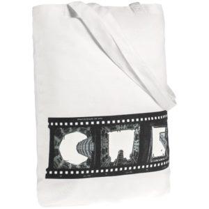 Холщовая сумка «Небо-душа», молочно-белая