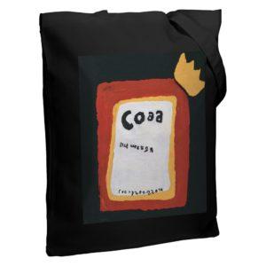 Холщовая сумка «Сода», черная