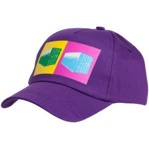 Бейсболка LogicArt, фиолетовая