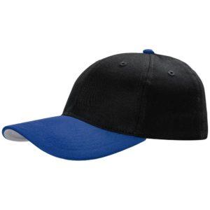 Бейсболка Ben Loyal, черная с синим