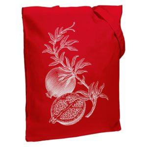 Холщовая сумка Grand Granat, красная