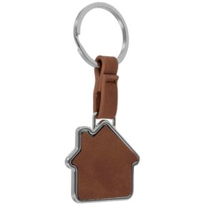 Брелок Leather Lodge, коричневый