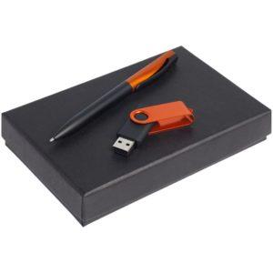 Набор Twist Fashion, черный с оранжевым, 8 Гб