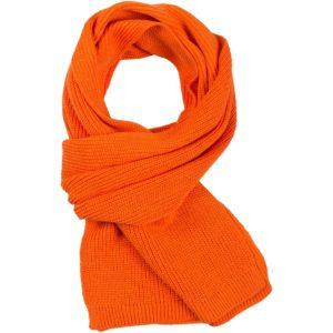 Шарф Amuse, оранжевый