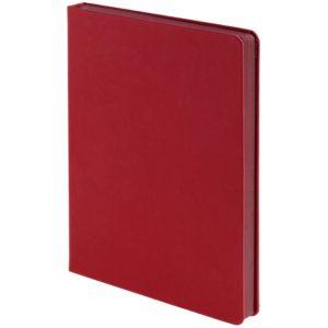Ежедневник Shall, недатированный, красный