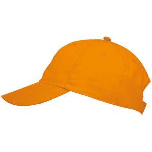 Бейсболка Meteor неоново-оранжевая