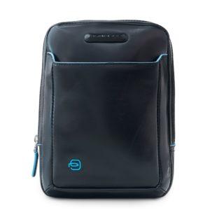 Сумка-планшет мужская Piquadro Blue Square, черная