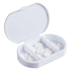 Таблетница Trizone, белая