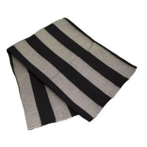 Полотенце-коврик для сауны Emendo, черно-серое