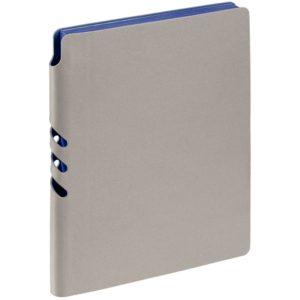 Ежедневник Flexpen, недатированный, серебристо-синий