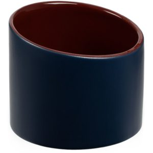 Ваза Form Fluid, малая, сине-бордовая