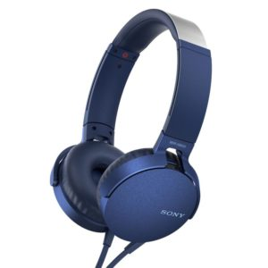Наушники Sony XB-550, синие